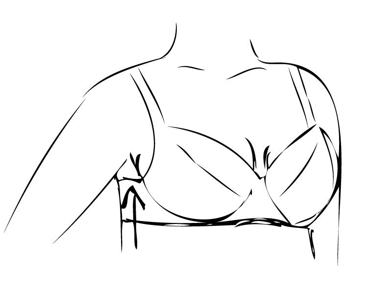 Kostice bodají do prsou